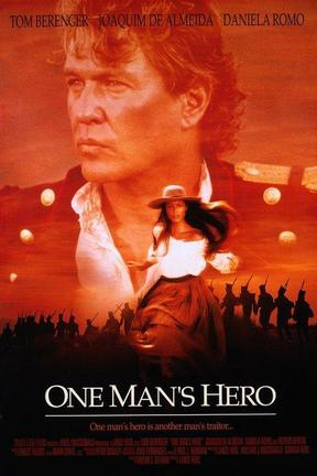 poster for One Man's Hero