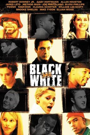 poster for Black and White