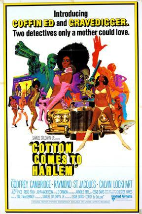 poster for Cotton Comes to Harlem