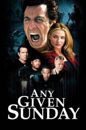 poster for Any Given Sunday: Director's Cut