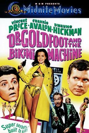 poster for Dr. Goldfoot and the Bikini Machine