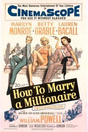 poster for How to Marry a Millionaire