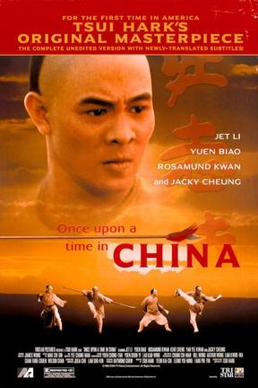 poster for Once Upon a Time in China