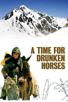 poster for A Time for Drunken Horses