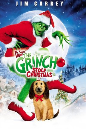 poster for Dr. Seuss' How the Grinch Stole Christmas