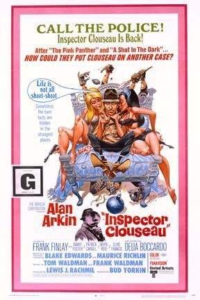 poster for Inspector Clouseau