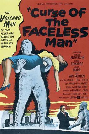 poster for Curse of the Faceless Man