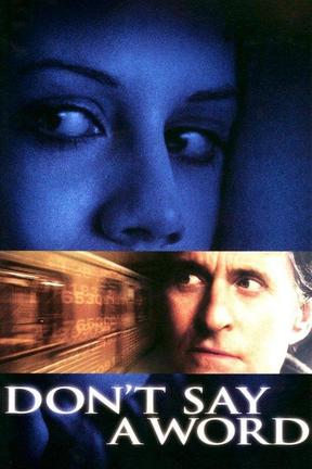 poster for Don't Say a Word