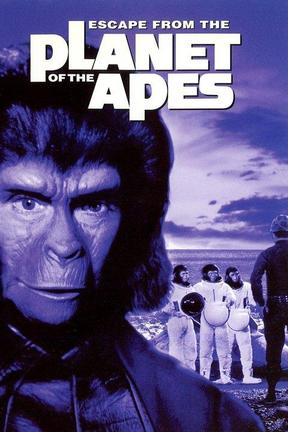 poster for Escape From the Planet of the Apes