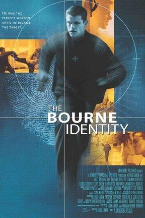poster for The Bourne Identity