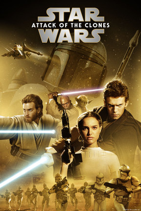 poster for Star Wars: Episode II -- Attack of the Clones