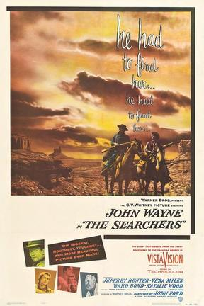 poster for The Searchers