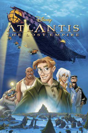 poster for Atlantis: The Lost Empire