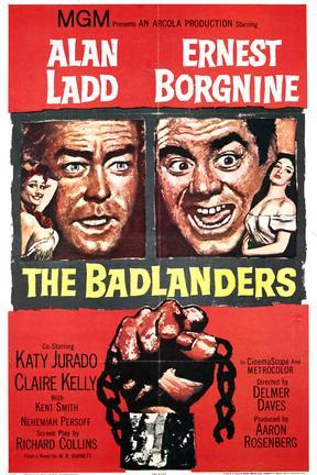 poster for The Badlanders