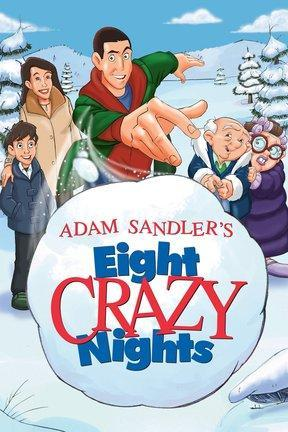 poster for Adam Sandler's Eight Crazy Nights