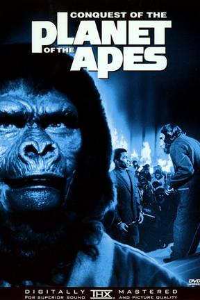 poster for Conquest of the Planet of the Apes