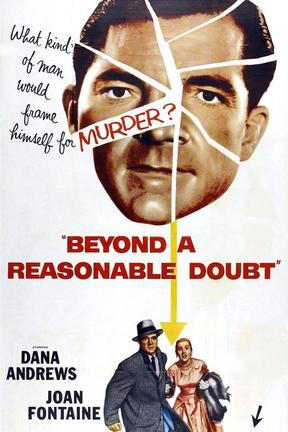 poster for Beyond a Reasonable Doubt