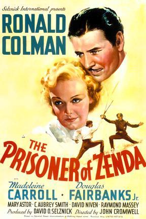 poster for The Prisoner of Zenda