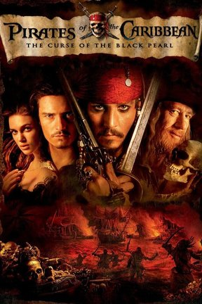 poster for Pirates of the Caribbean: The Curse of the Black Pearl