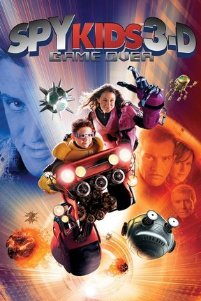 poster for Spy Kids 3-D: Game Over