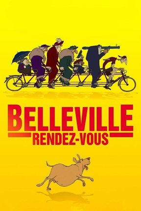poster for The Triplets of Belleville