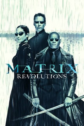 poster for The Matrix Revolutions