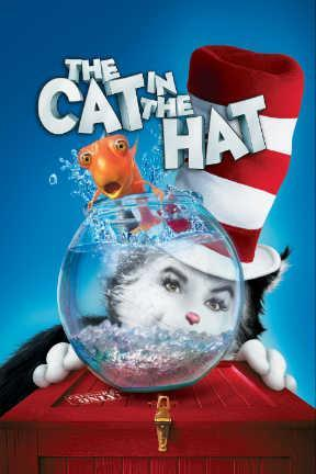 poster for Dr. Seuss' The Cat in the Hat