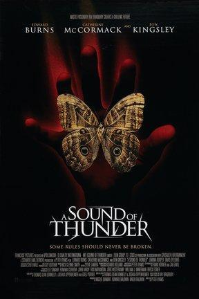 poster for A Sound of Thunder