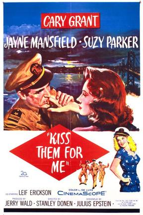 poster for Kiss Them for Me