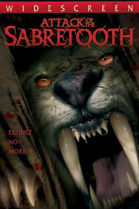poster for Attack of the Sabretooth
