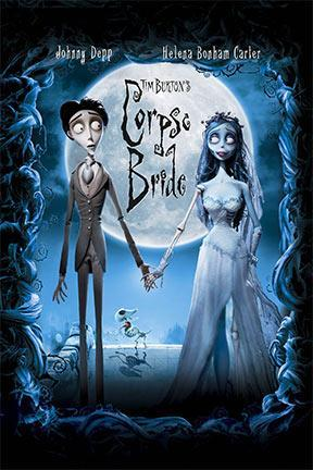 poster for Tim Burton's Corpse Bride
