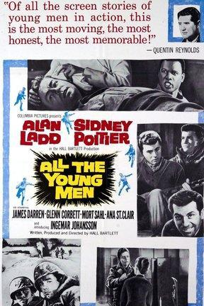 poster for All the Young Men