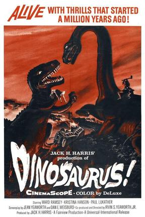 poster for Dinosaurus!