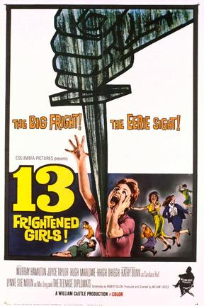 poster for 13 Frightened Girls