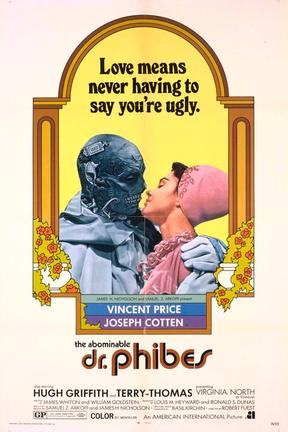 poster for The Abominable Dr. Phibes