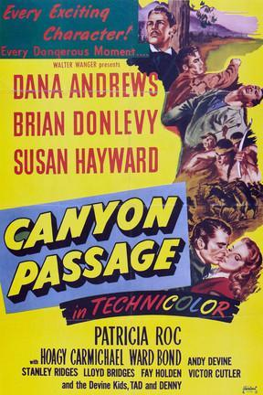 poster for Canyon Passage