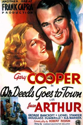 poster for Mr. Deeds Goes to Town
