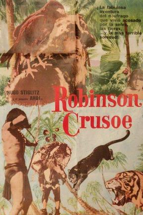 poster for Robinson Crusoe