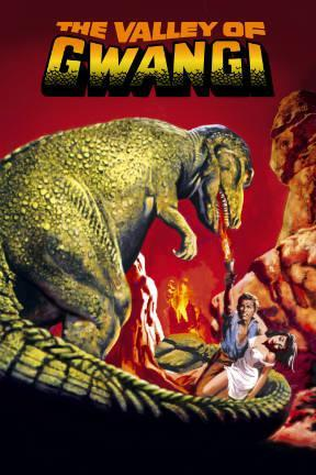 poster for The Valley of Gwangi