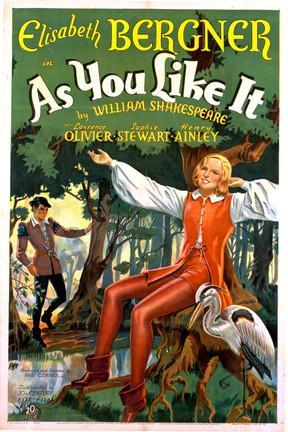 poster for As You Like It