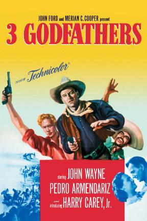 poster for 3 Godfathers