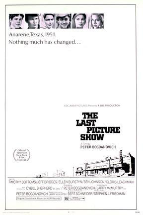 poster for The Last Picture Show