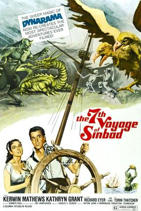 poster for The 7th Voyage of Sinbad