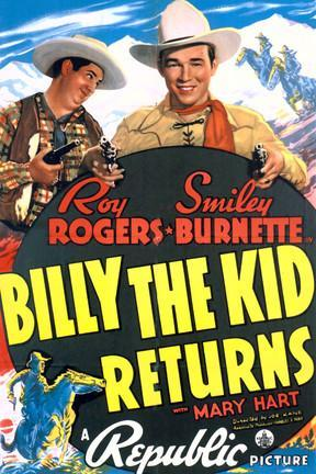 poster for Billy the Kid Returns