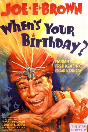poster for When's Your Birthday?