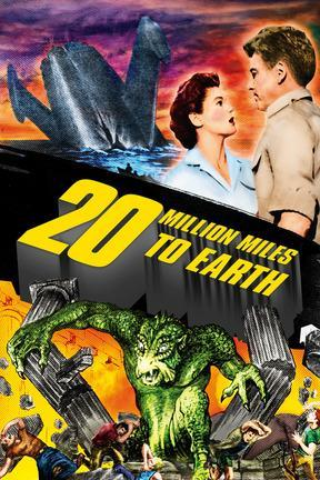 poster for 20 Million Miles to Earth