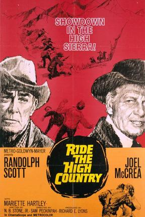 poster for Ride the High Country