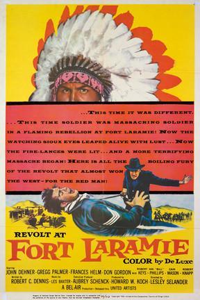 poster for Revolt at Fort Laramie