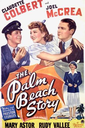 poster for The Palm Beach Story