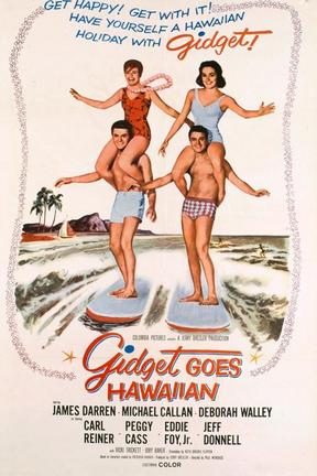 poster for Gidget Goes Hawaiian